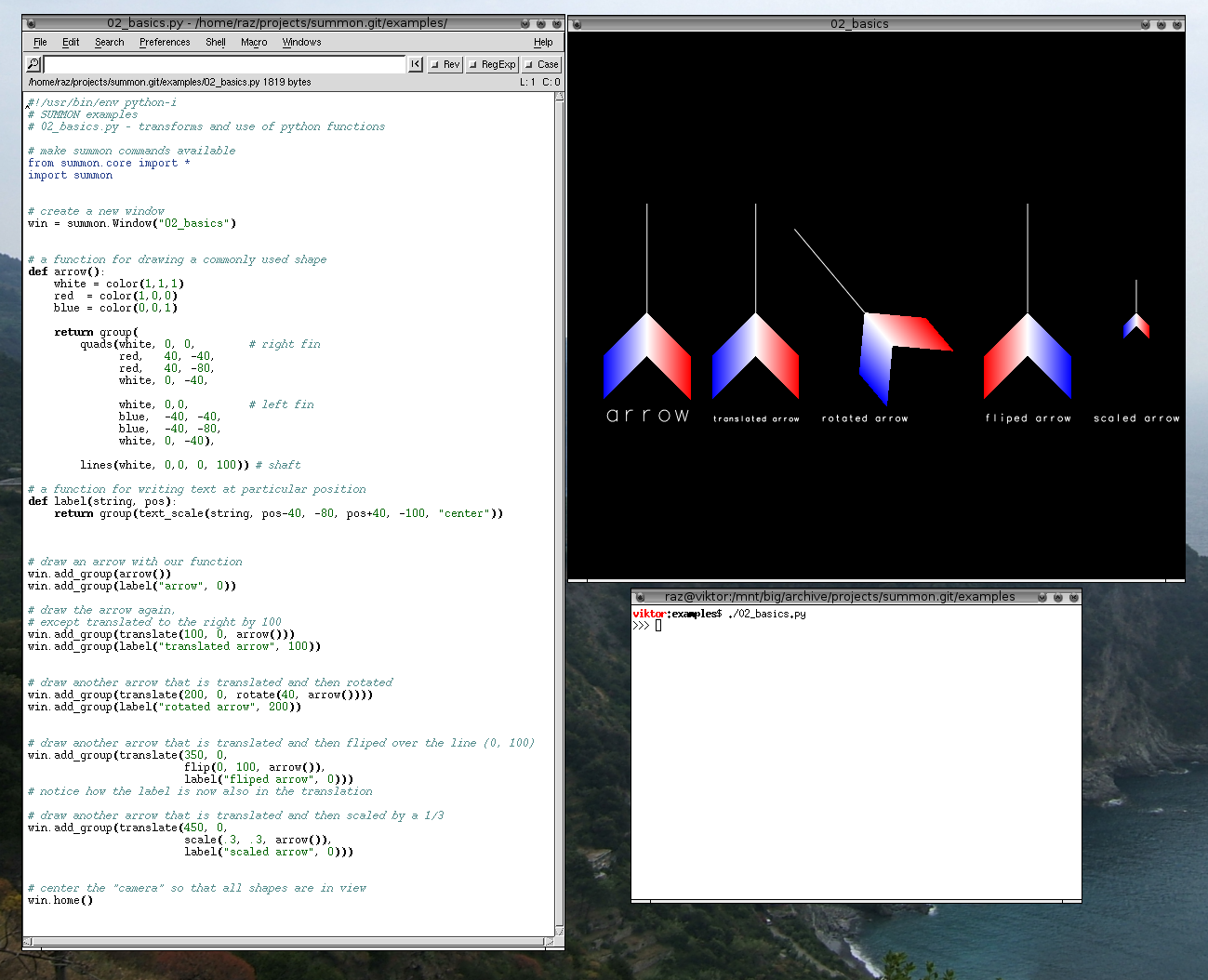 SUMMON: visualization prototyping and scripting - Matt Rasmussen